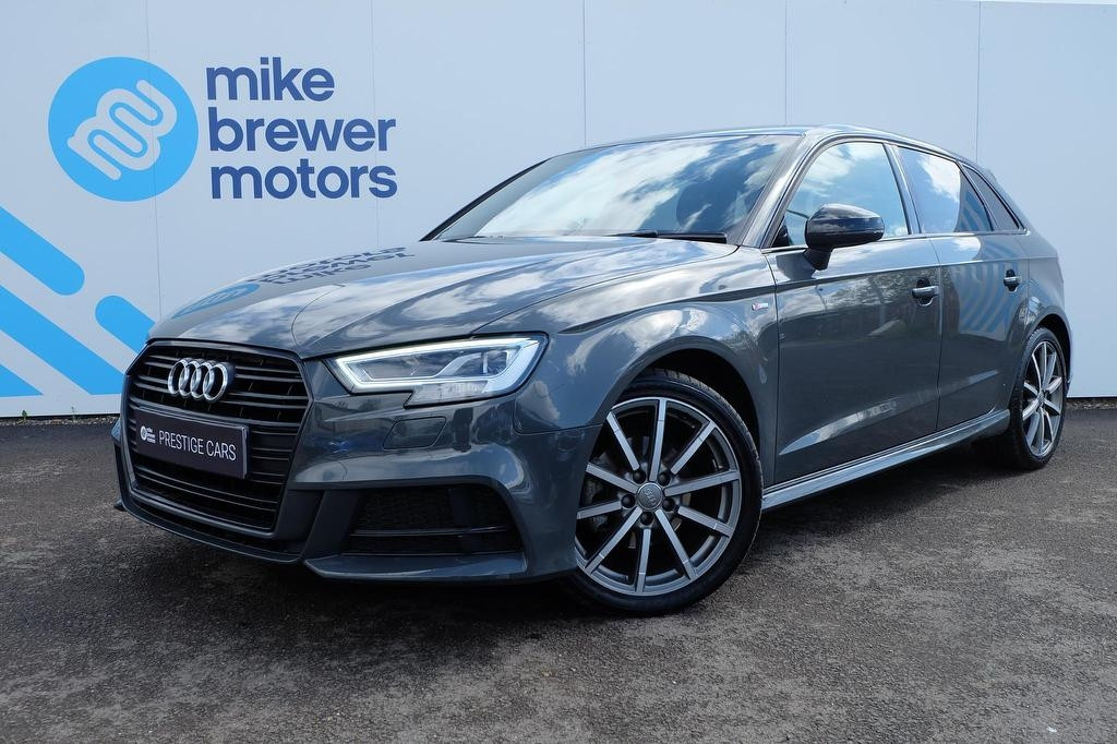 Audi A3 2 0 Tdi Black Edition 5dr S Tronic 7 Speed Yp18oug