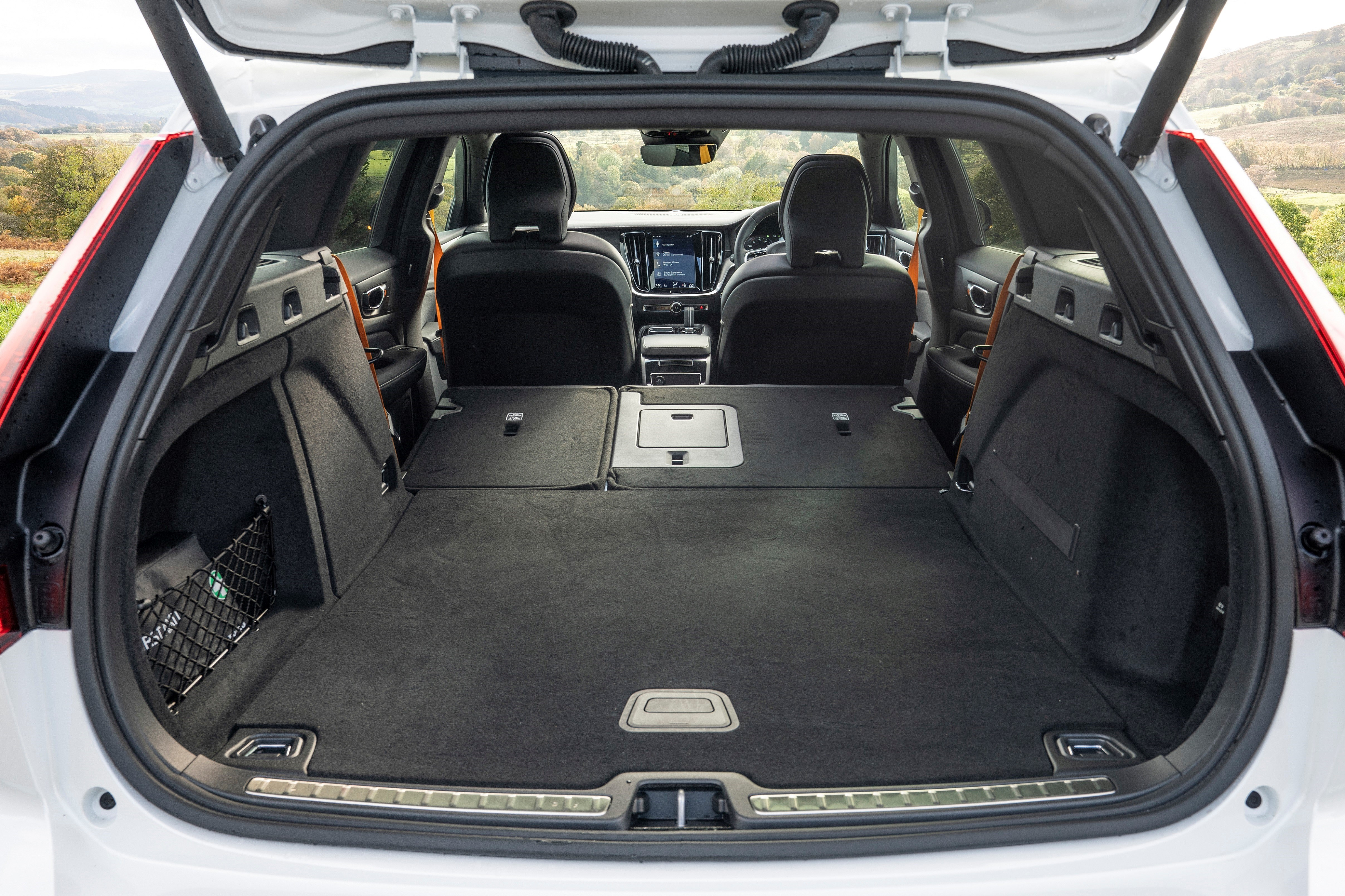 Boot Space in the Volvo