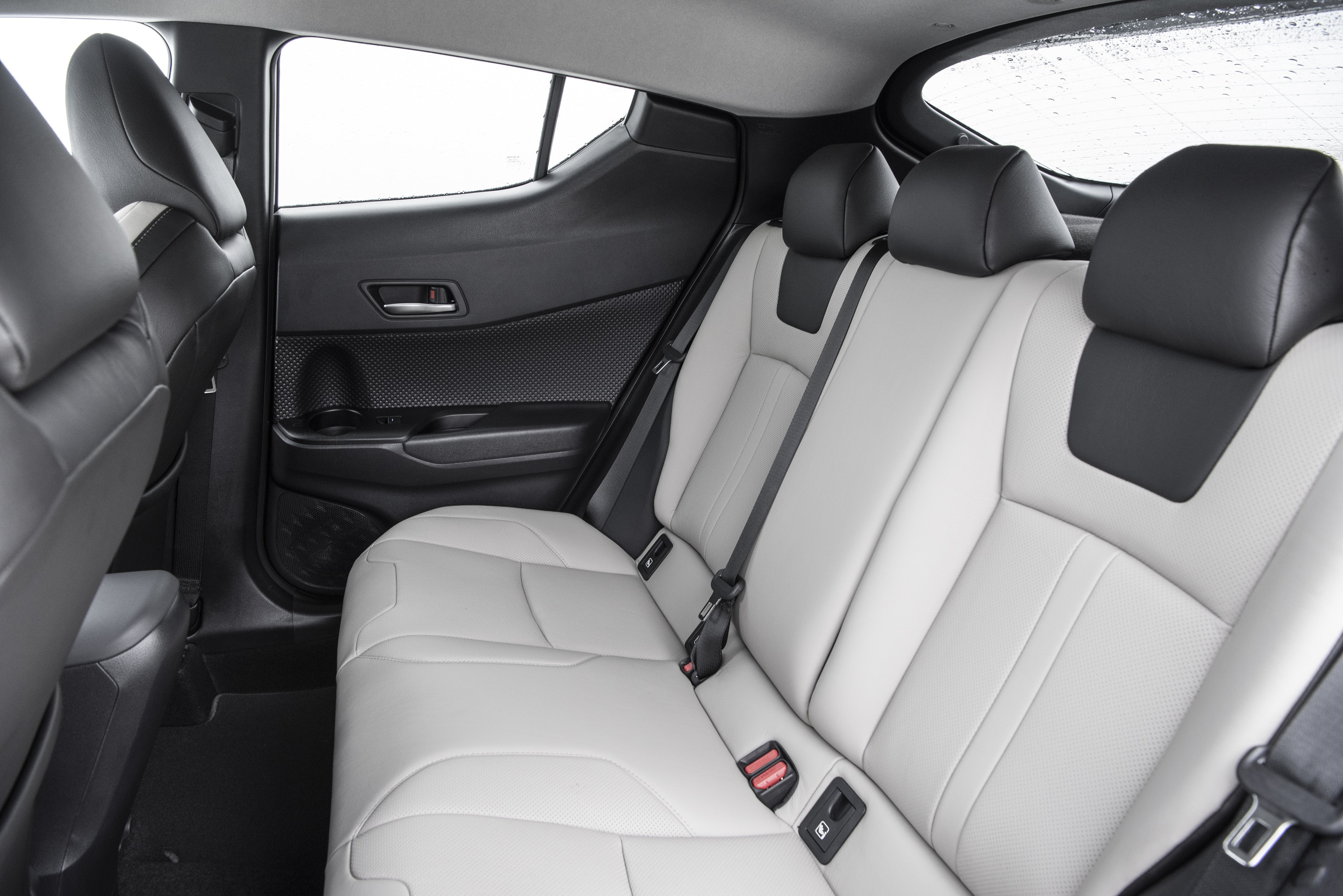 Rear seating of Toyota C-HR