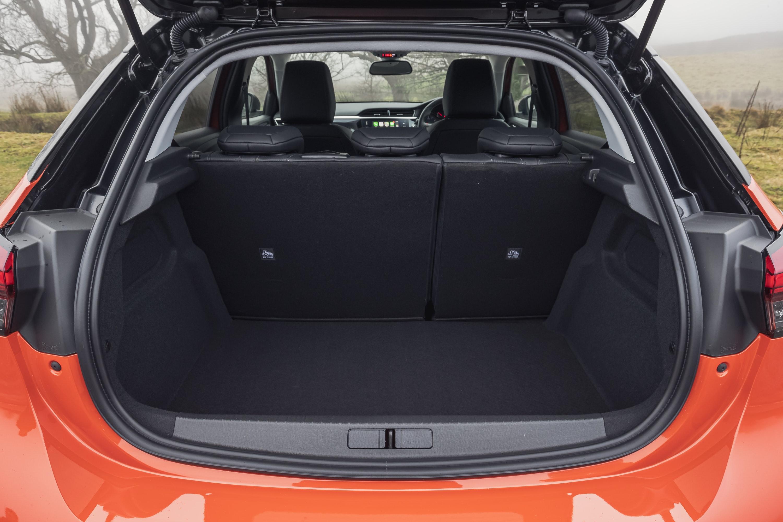 Boot of Vauxhall Corsa