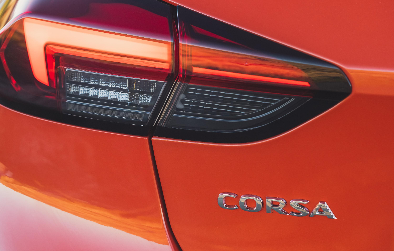 LED headlight of Vauxhall Corsa