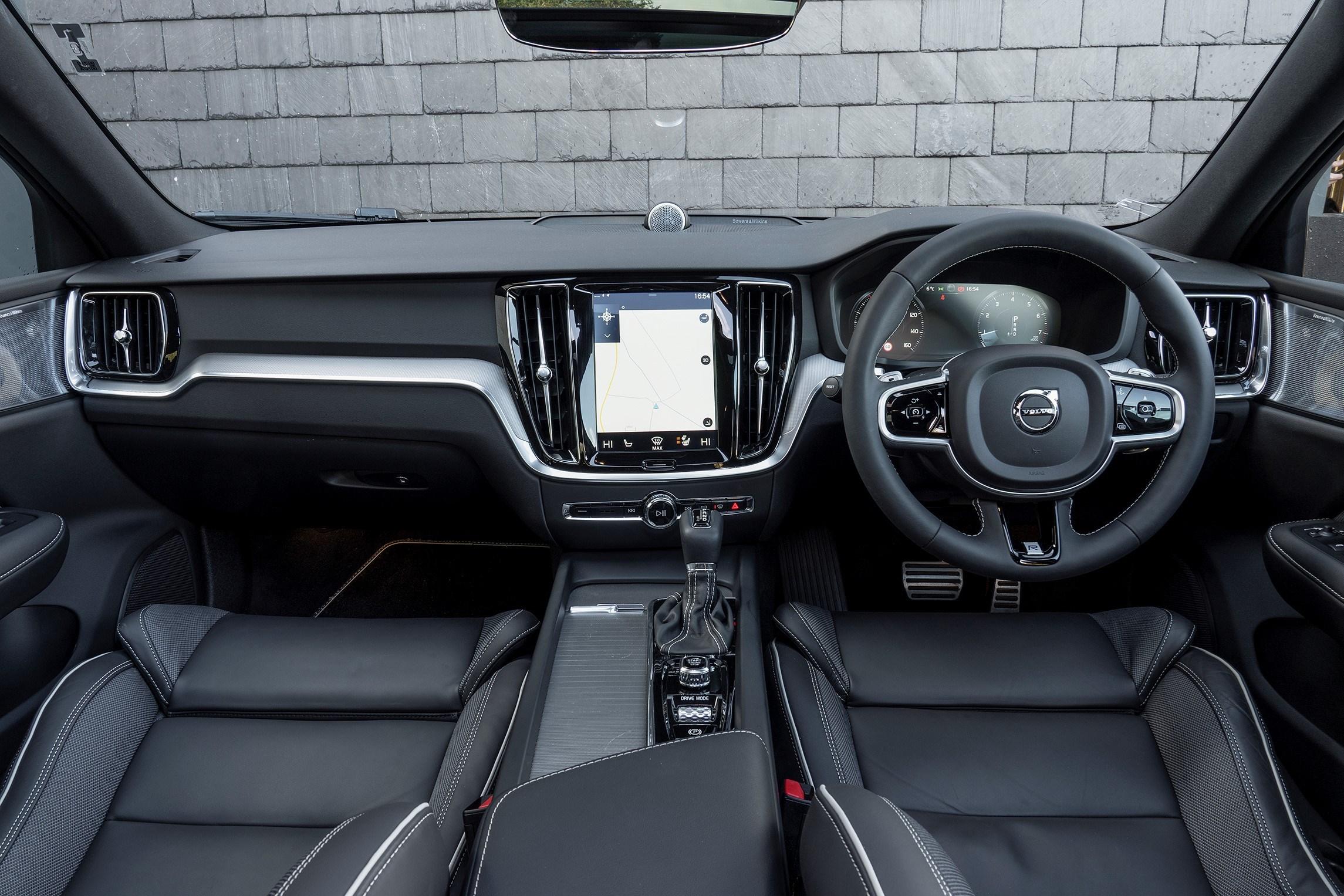 Interior of the Volvo S60 T5
