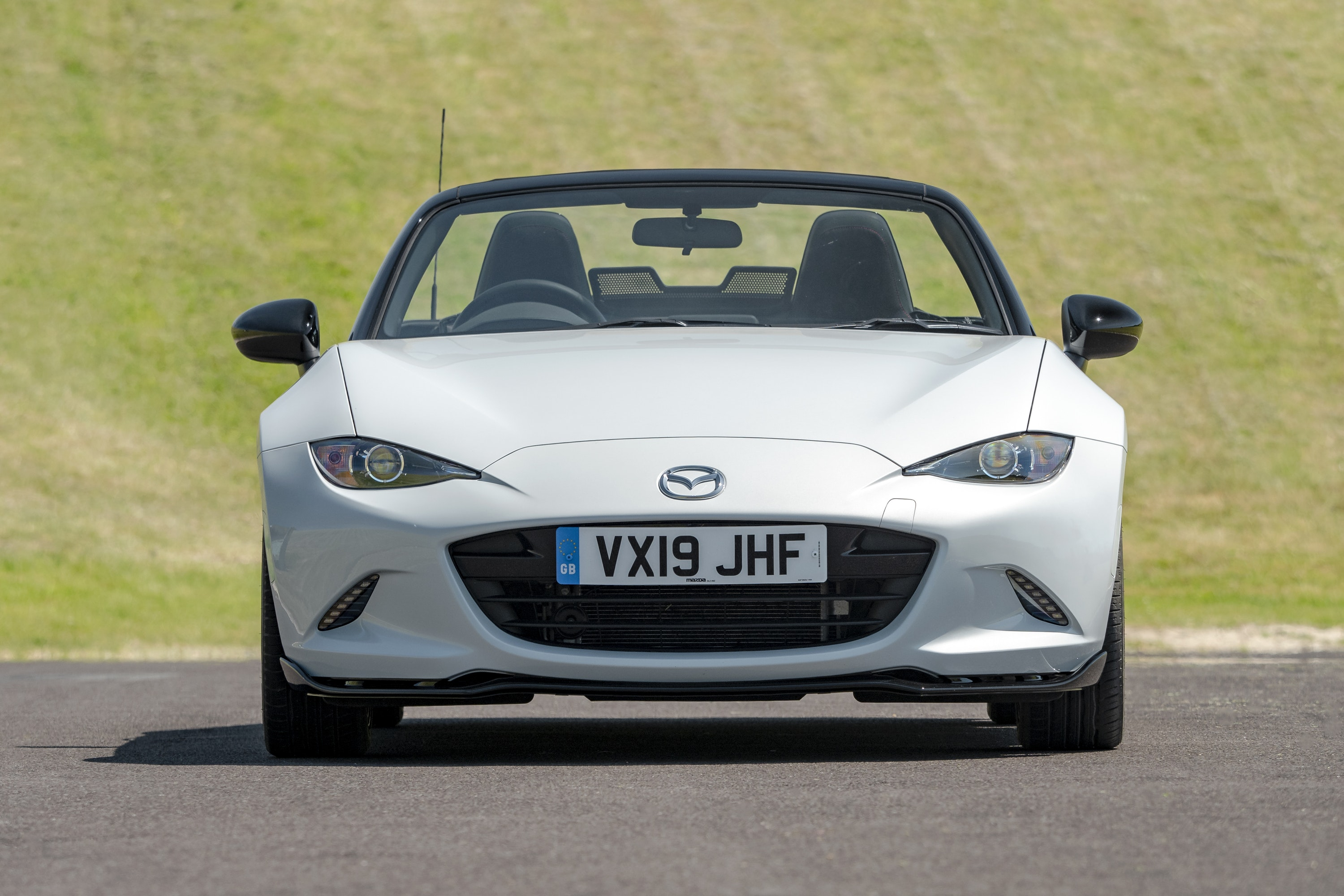 Front view of the Mazda MX-5