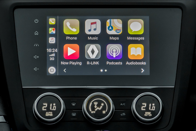 7 inch touchscreen in a Renault Kadjar