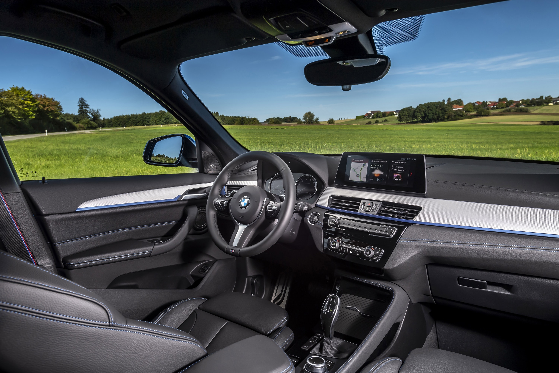 Interior of BMW X1