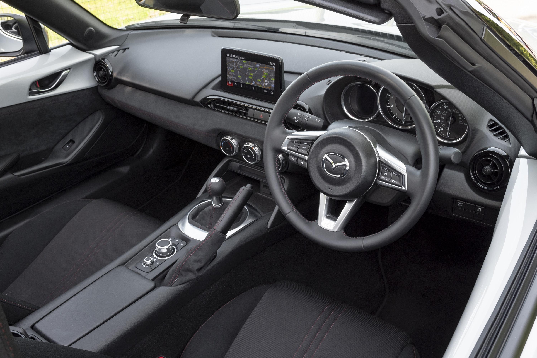 interior of Mazda MX-5