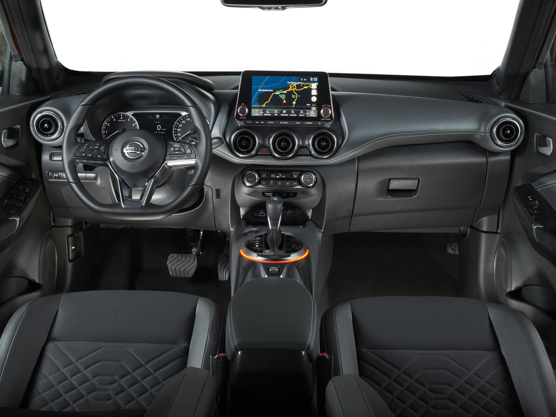 Interior of Nissan Juke