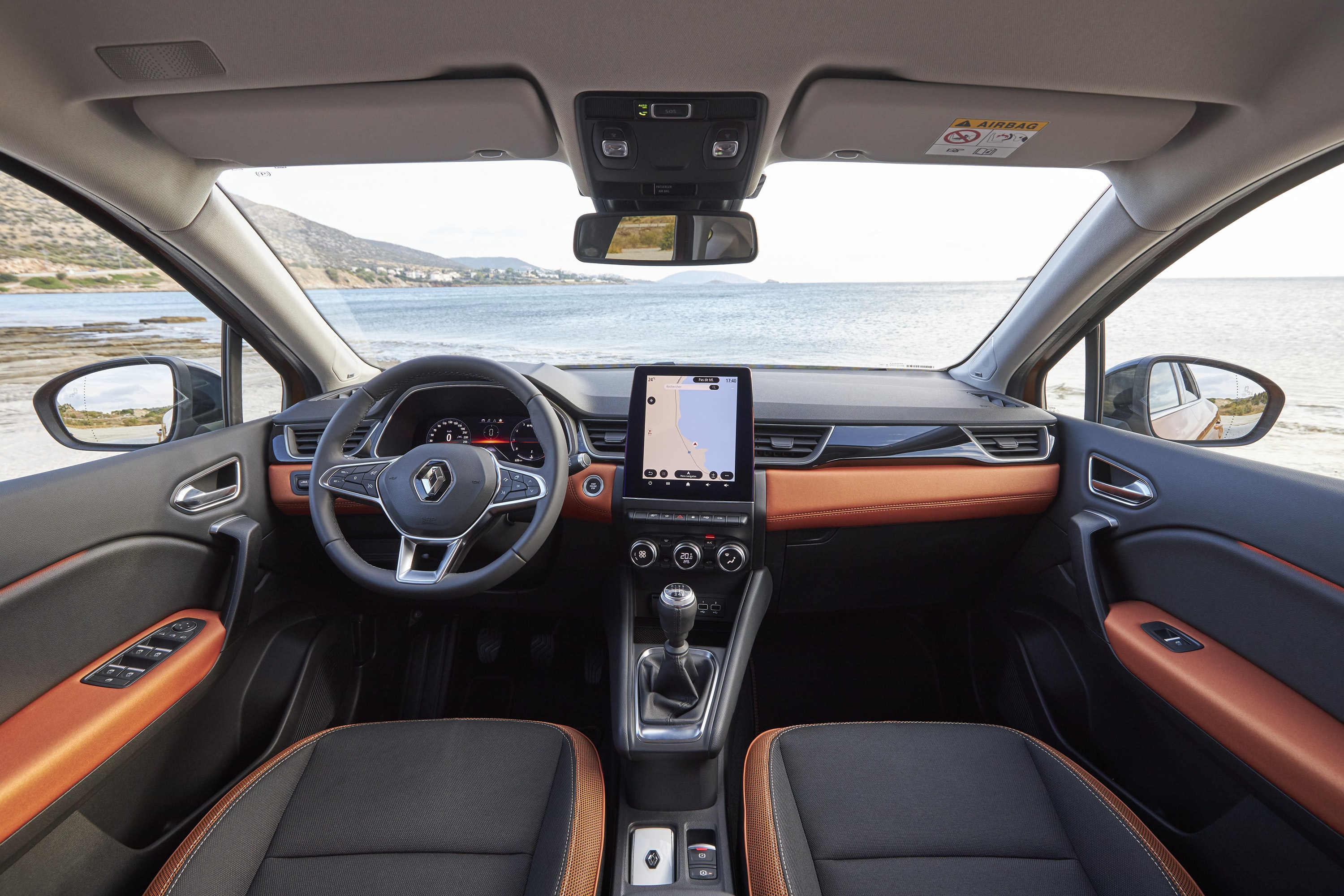interior of Renault Captur