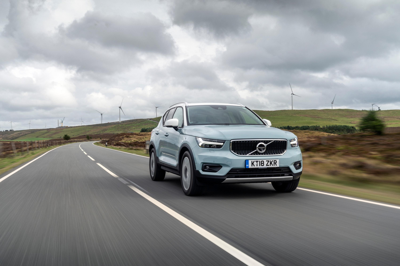 Volvo driving