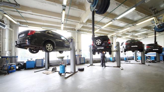 Toyota Hanley Service Centre site