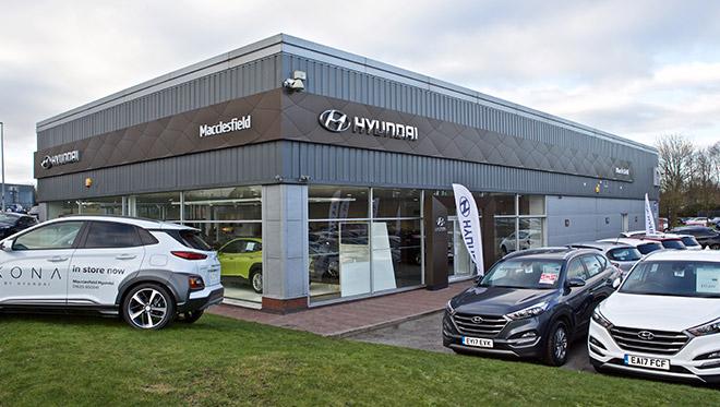 Macclesfield Hyundai site