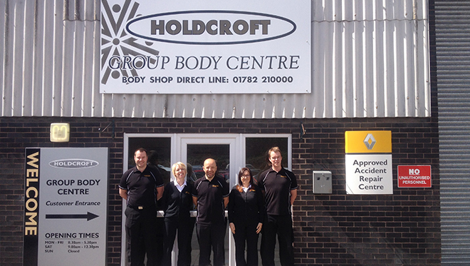 Holdcroft Group Body Centre site