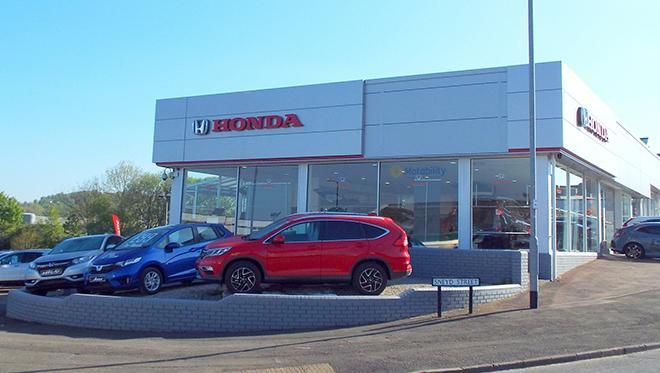 Honda Cobridge site