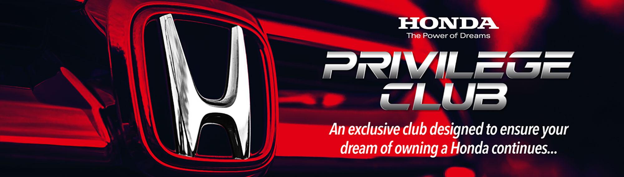 Honda Privilege Club