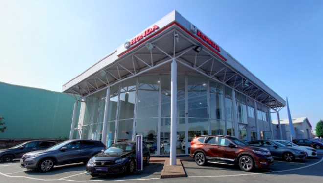Honda Warrington site