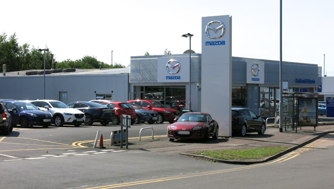 Mazda Hanley site