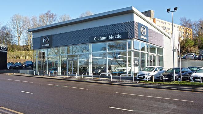 Oldham Mazda site