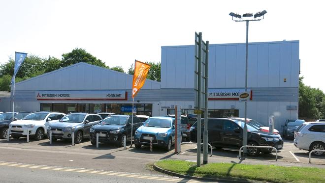 Mitsubishi Hanley site