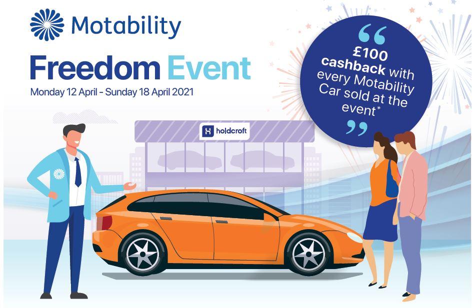 Freedom Motability Event