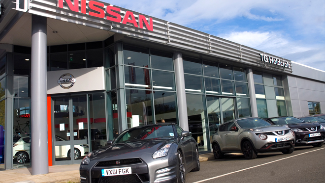 Nissan Northwich - Temporarily closed site