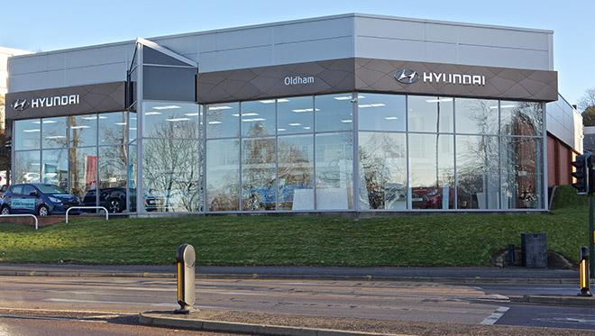Oldham Hyundai site