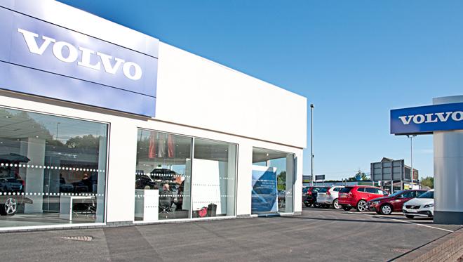 Volvo Stoke site