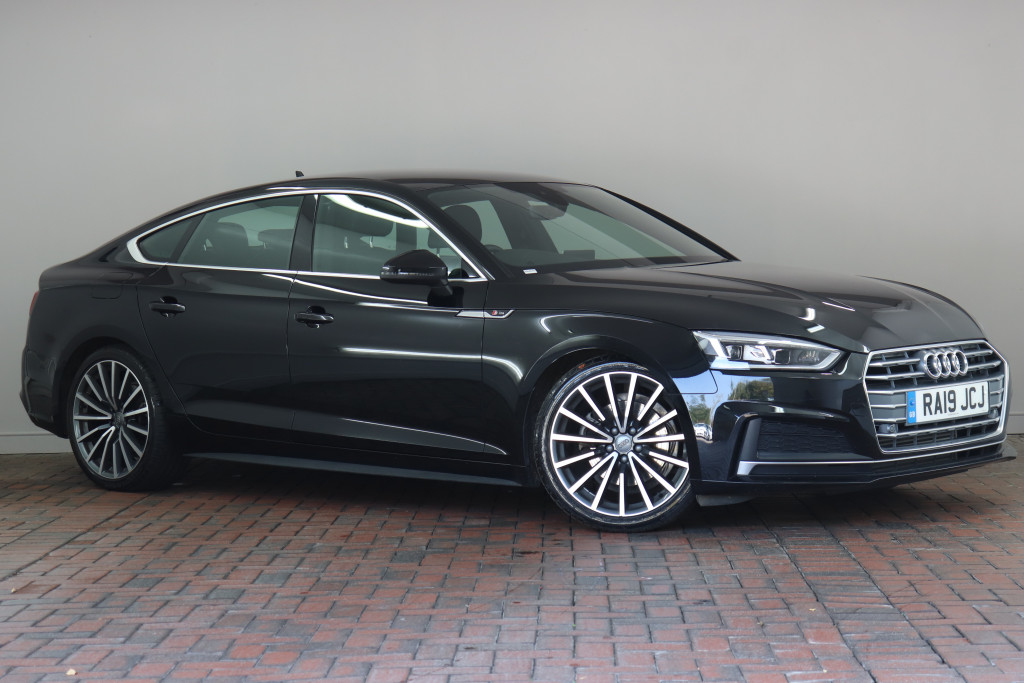 Audi A5 Sportback 40 Tfsi S Line 5dr Tech Pack 19 Alloys Virtual Cockpit Wireless Charging Heated Seats Ra19jcj Used Audi A5 Fords Of Winsford