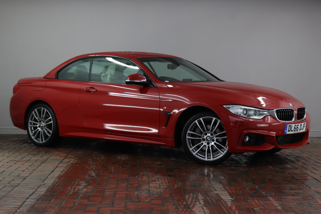 Bmw 4 Series Diesel Convertible 435d Xdrive M Sport 2dr Auto Professional Media 19 Alloys Heated Seats Leather Dl66djf Used Bmw 4 Series Fords Of Winsford