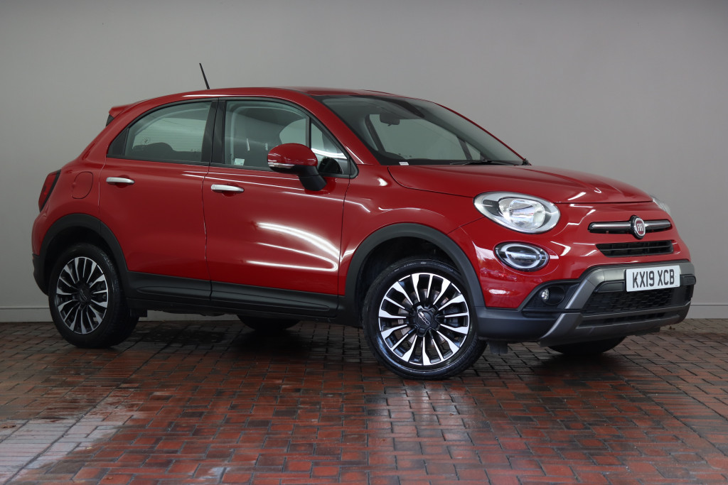 Fiat 500x Hatchback 1 3 City Cross 5dr Dct Parking Sensors Dab Radio Active Lane Assist Kx19xcb Used Fiat 500x Fords Of Winsford