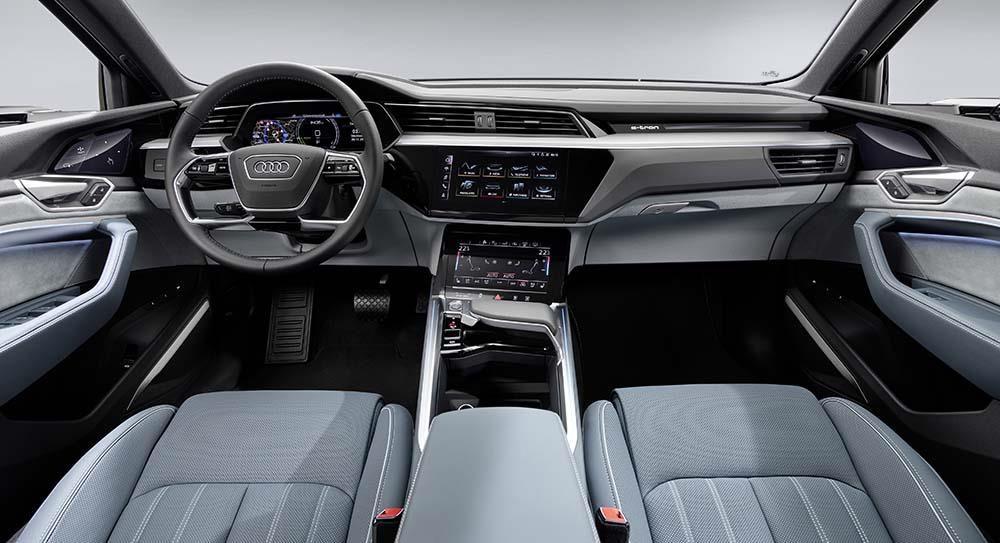 E-tron Sportback interior