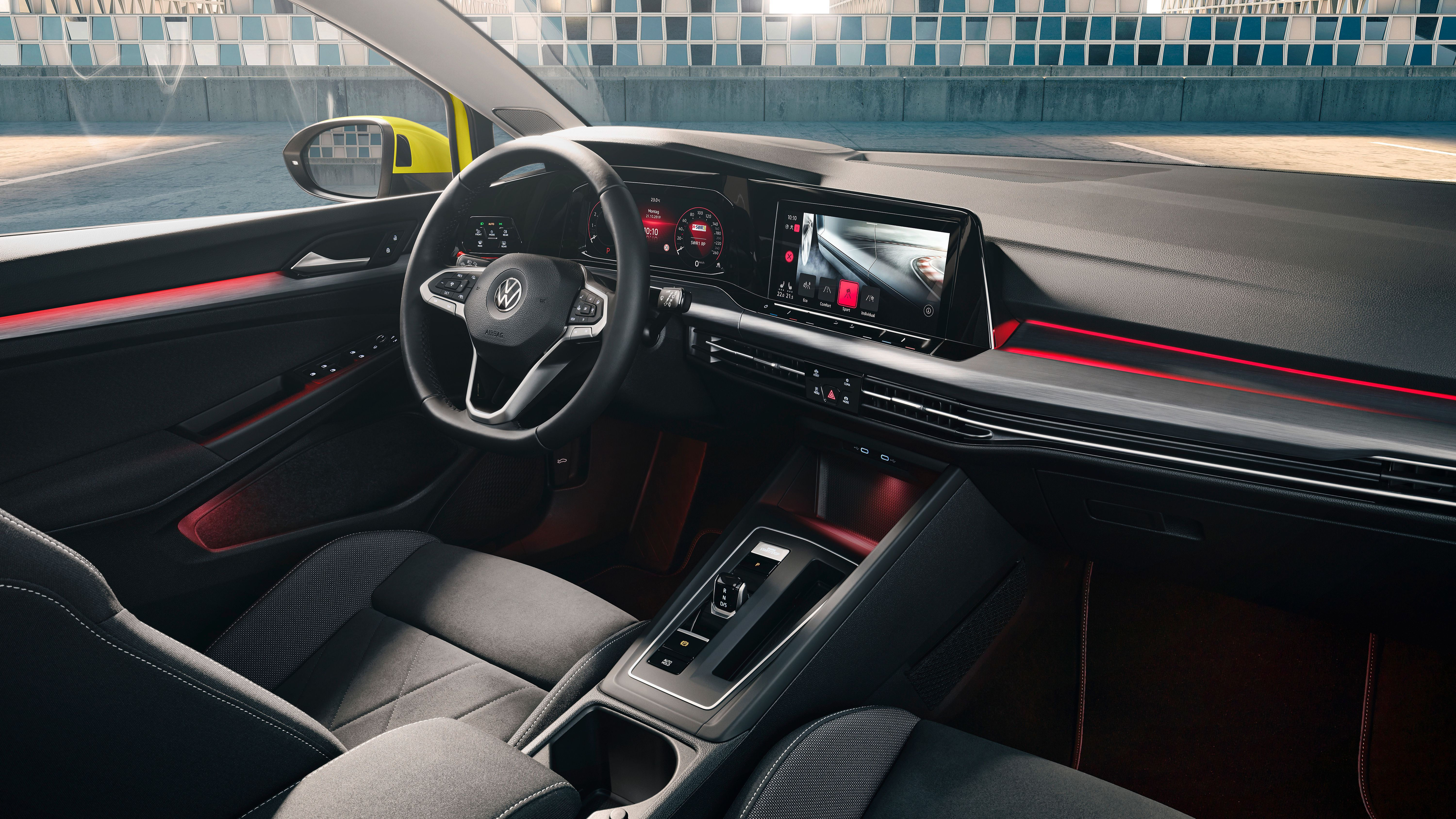 Interior of New Golf 8