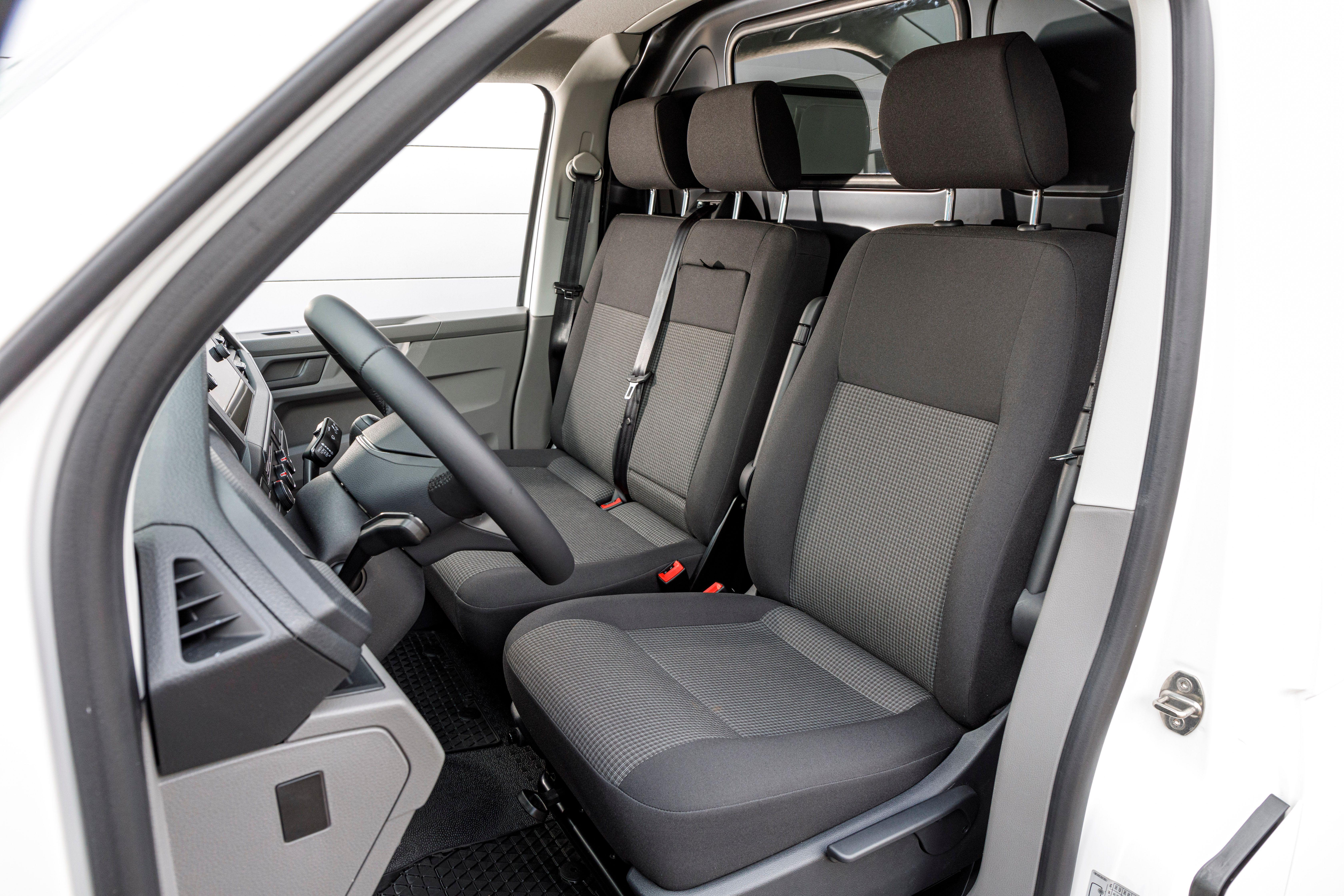 Interior of T6.1 Van