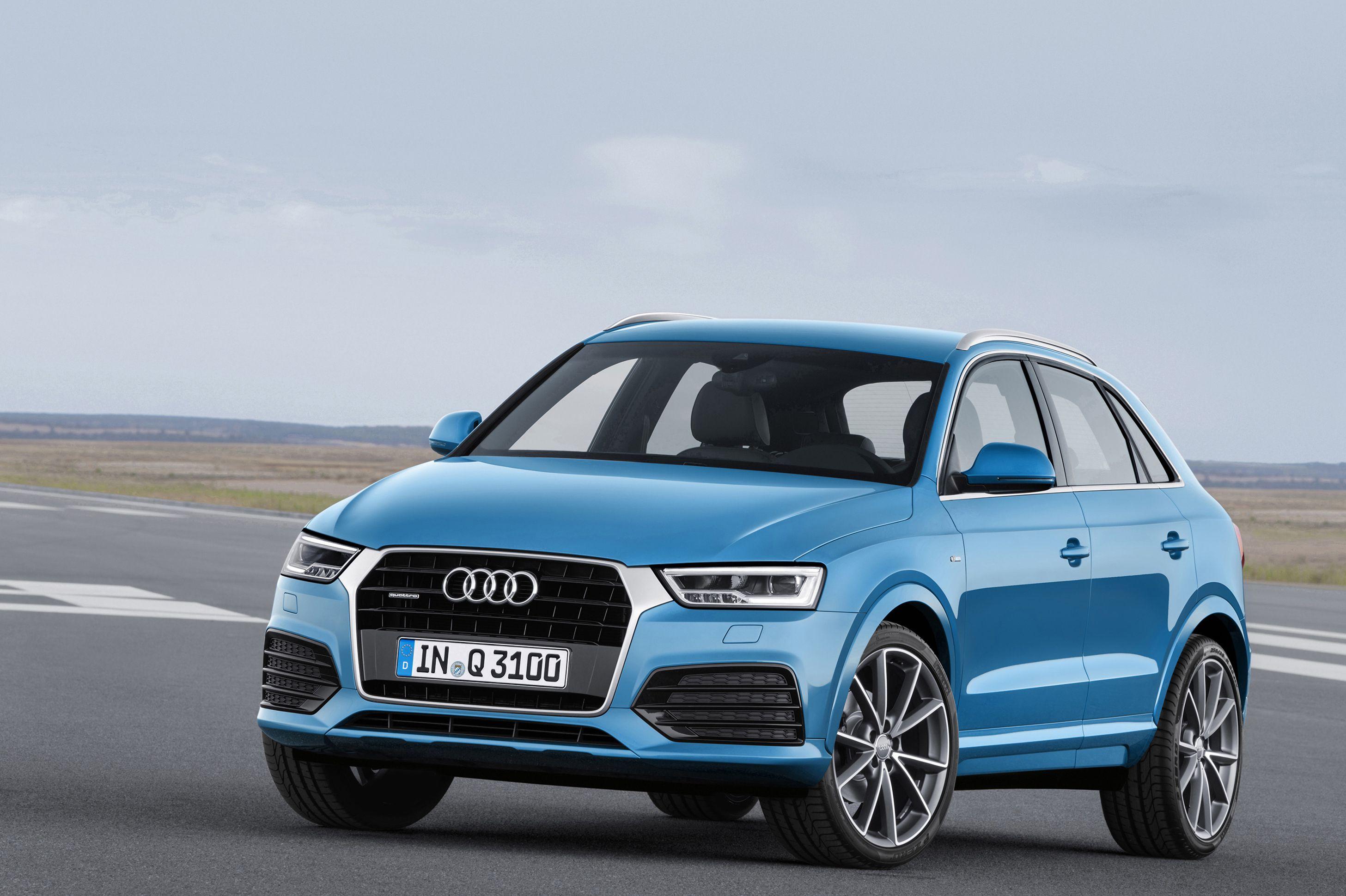 Audi Q3 BLUE