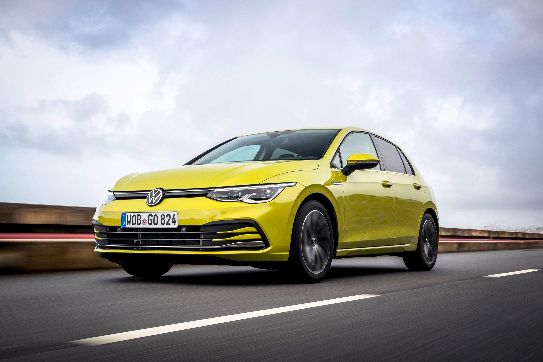 Volkswagen Golf front view
