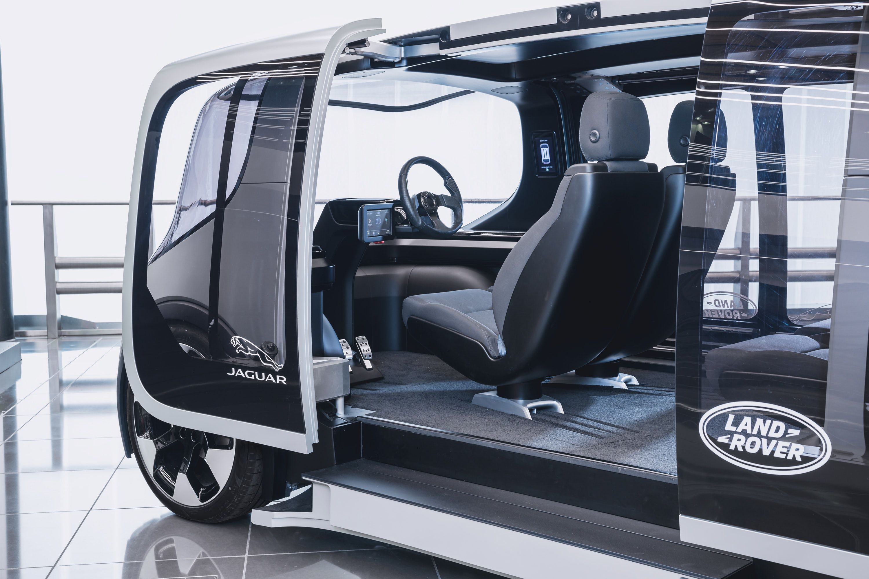 Jaguar Land Rover electric pod