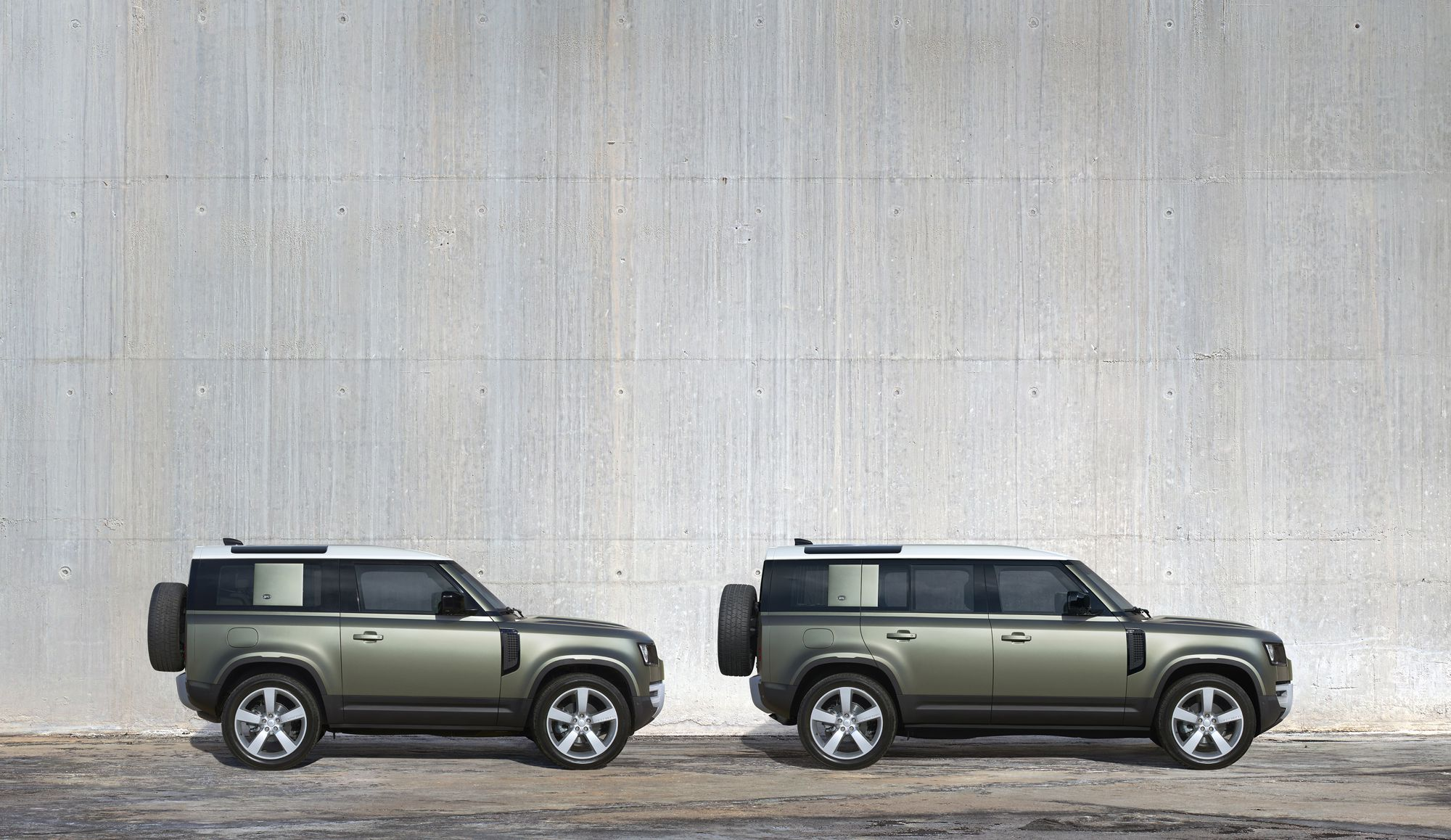 New Land Rover Defender line up