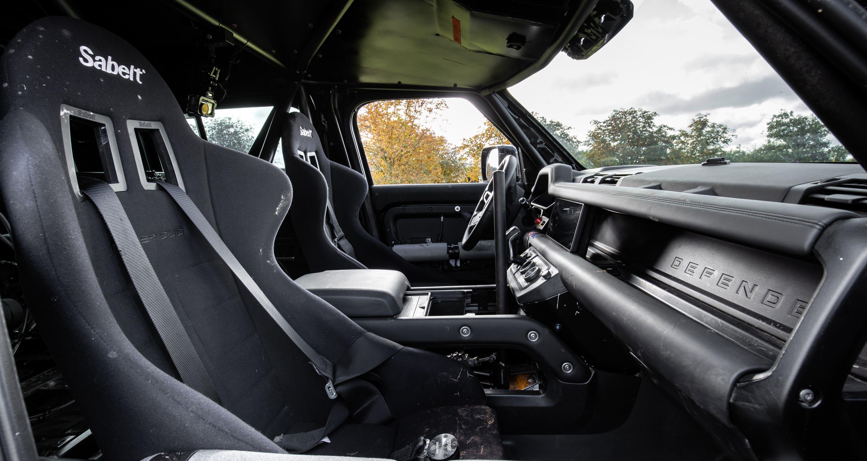 bond car interior