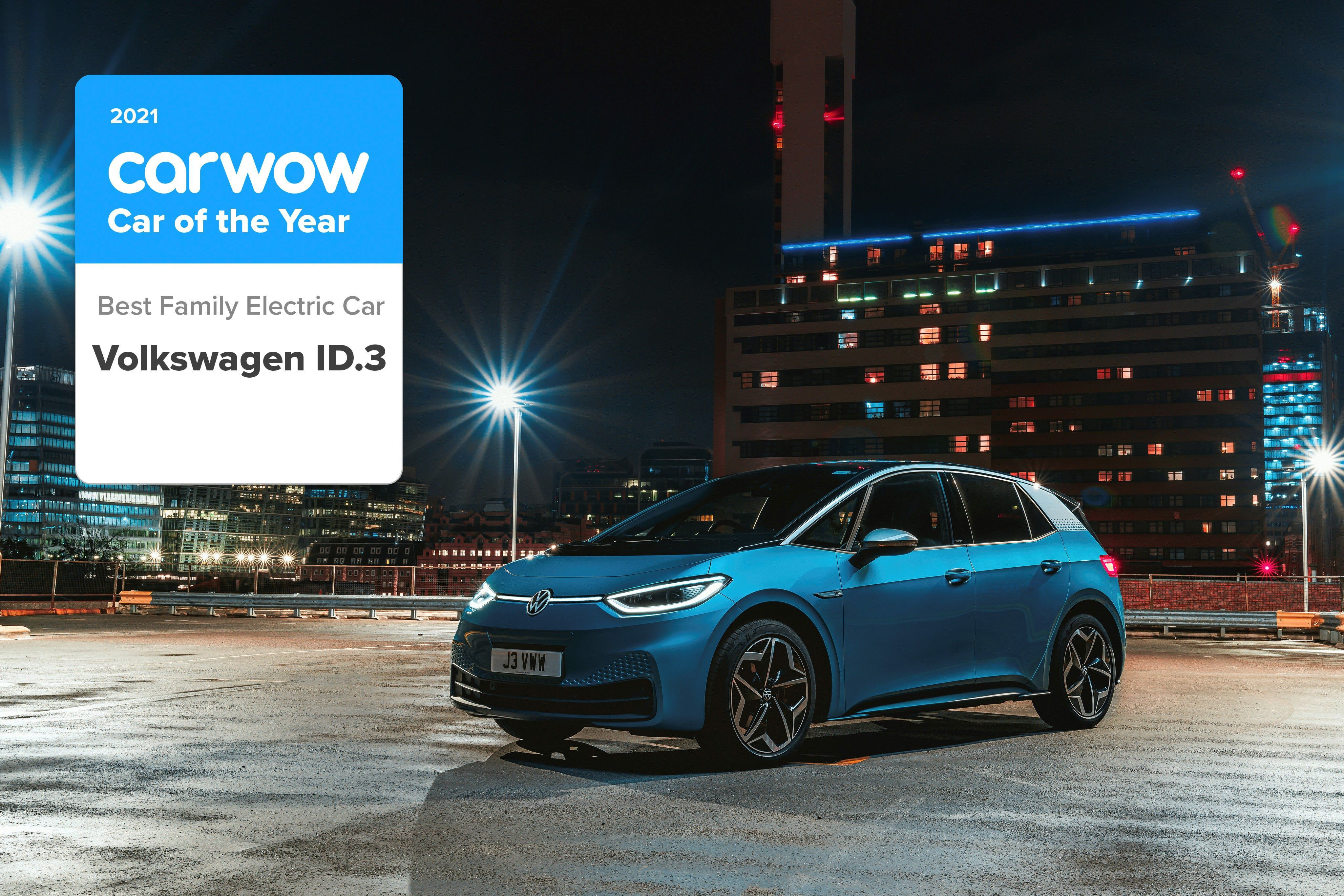 car wow car of the year award best family electric car