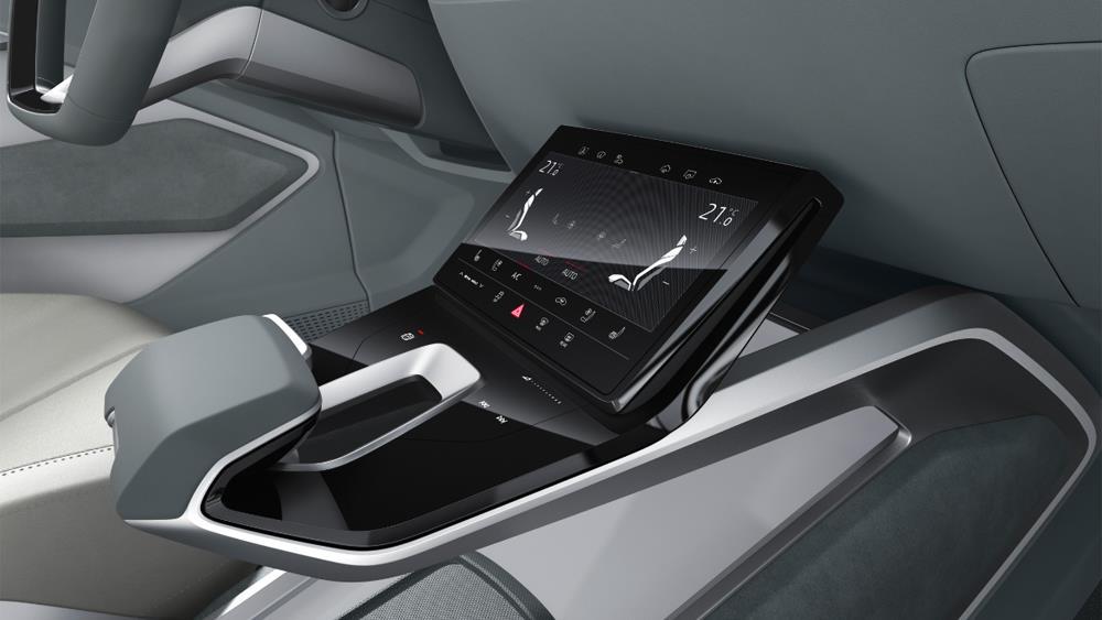 Audi e-tron Sportback concept April 2017 interior