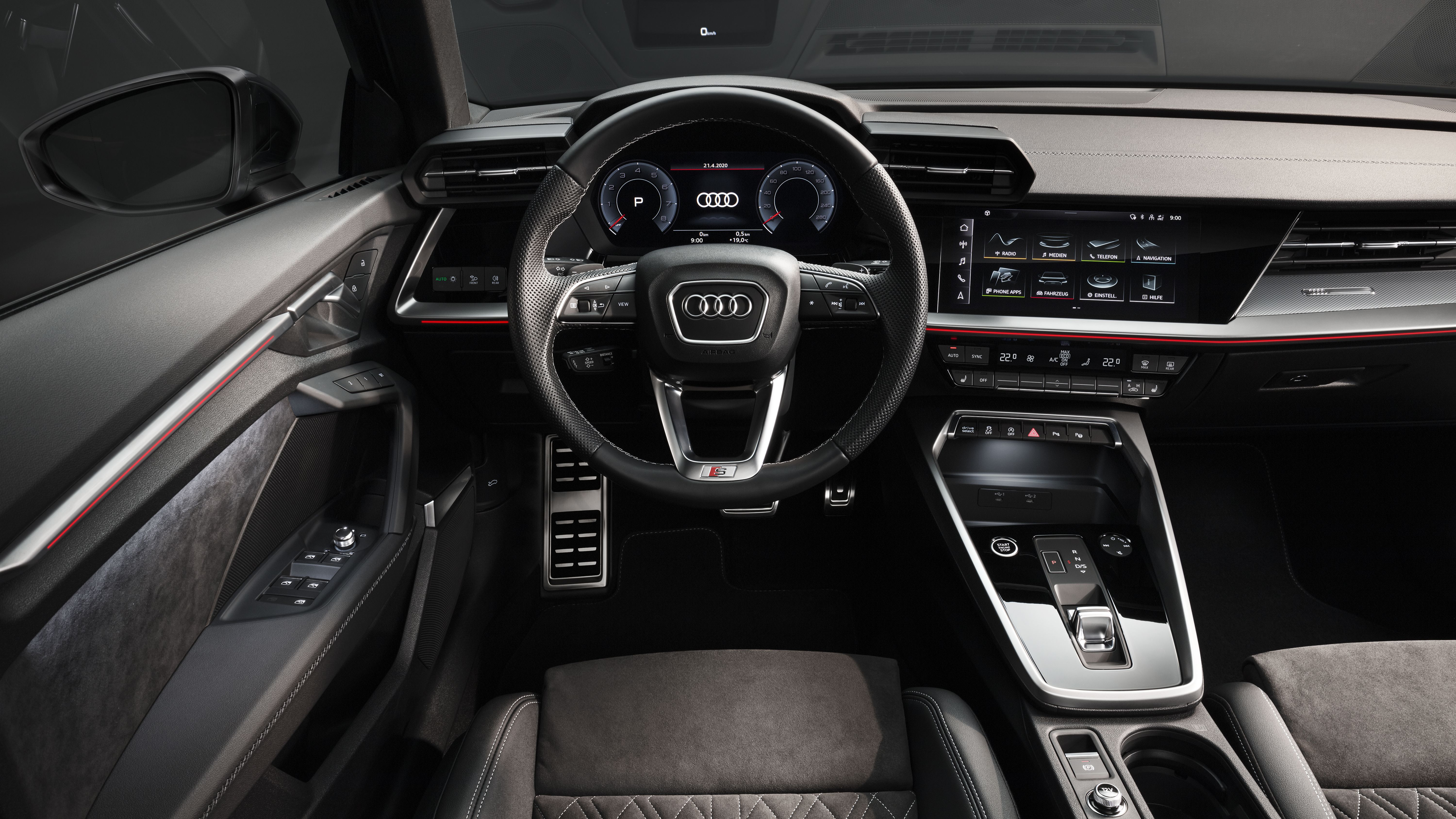 All new Audi A3 Saloon cockpit and interior