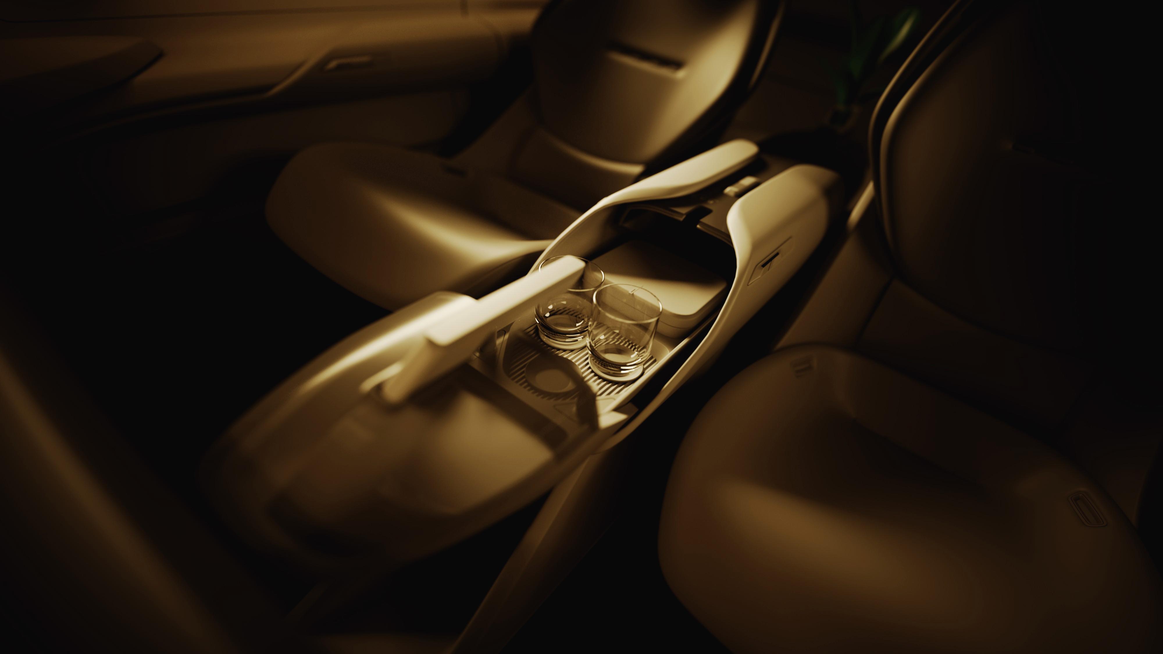 Interior of Audi Grandsphere