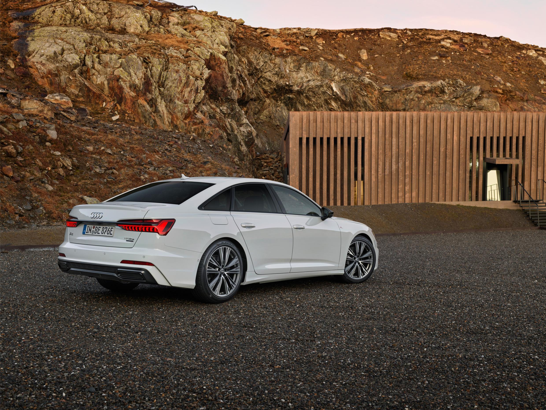 rear of Audi