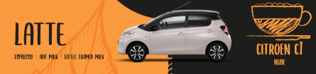 Citroen c1 compared to a Latte
