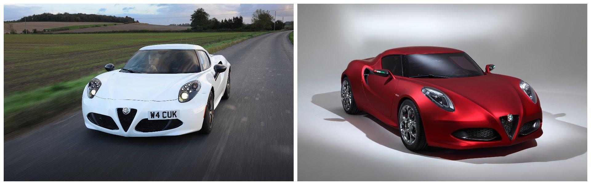 Alfa Romeo 4C Concept / 4C