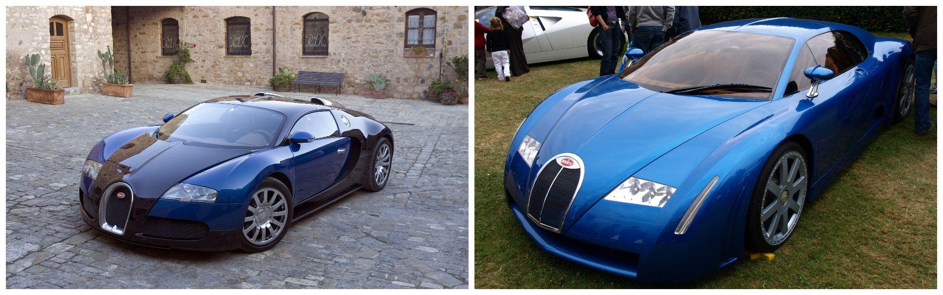 Bugatti Chiron 18/3 Concept / Veyron