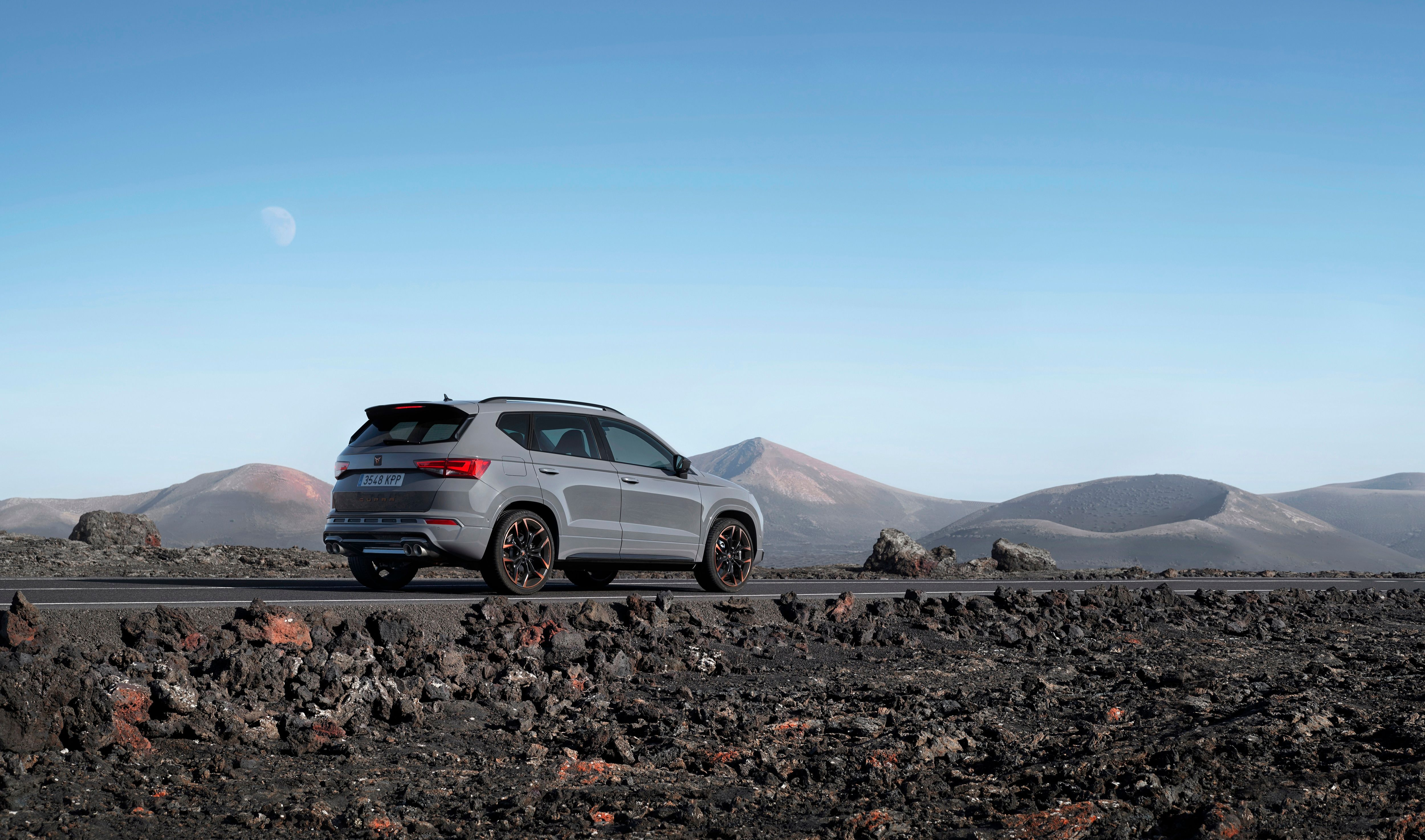 Rear view of CUPRA Ateca limited edition