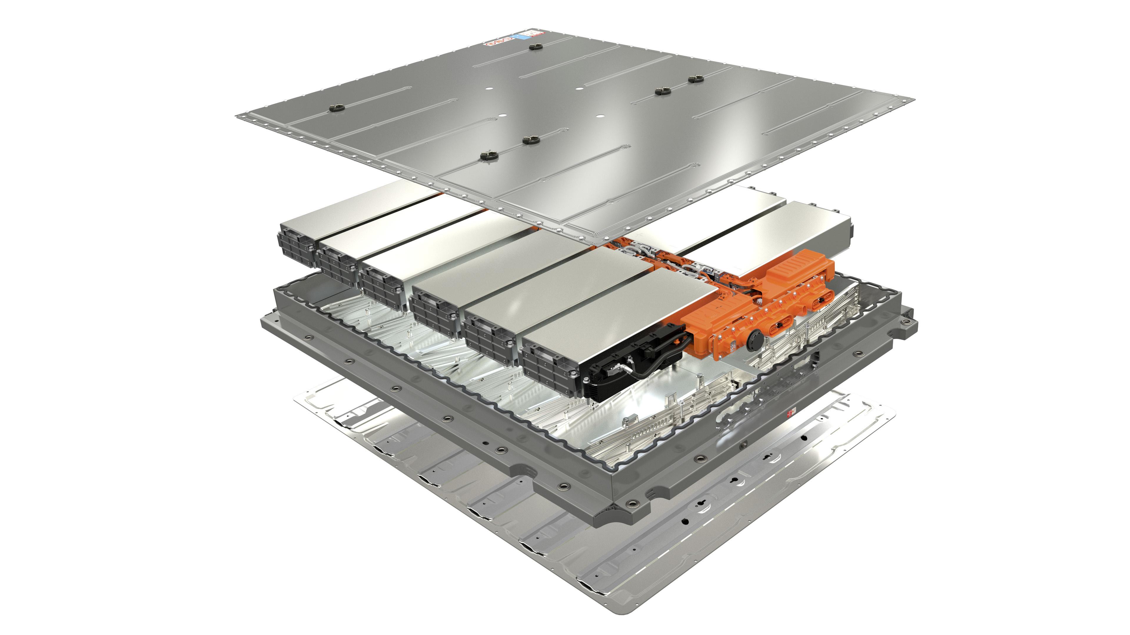 Battery diagram from Volkswagen Group