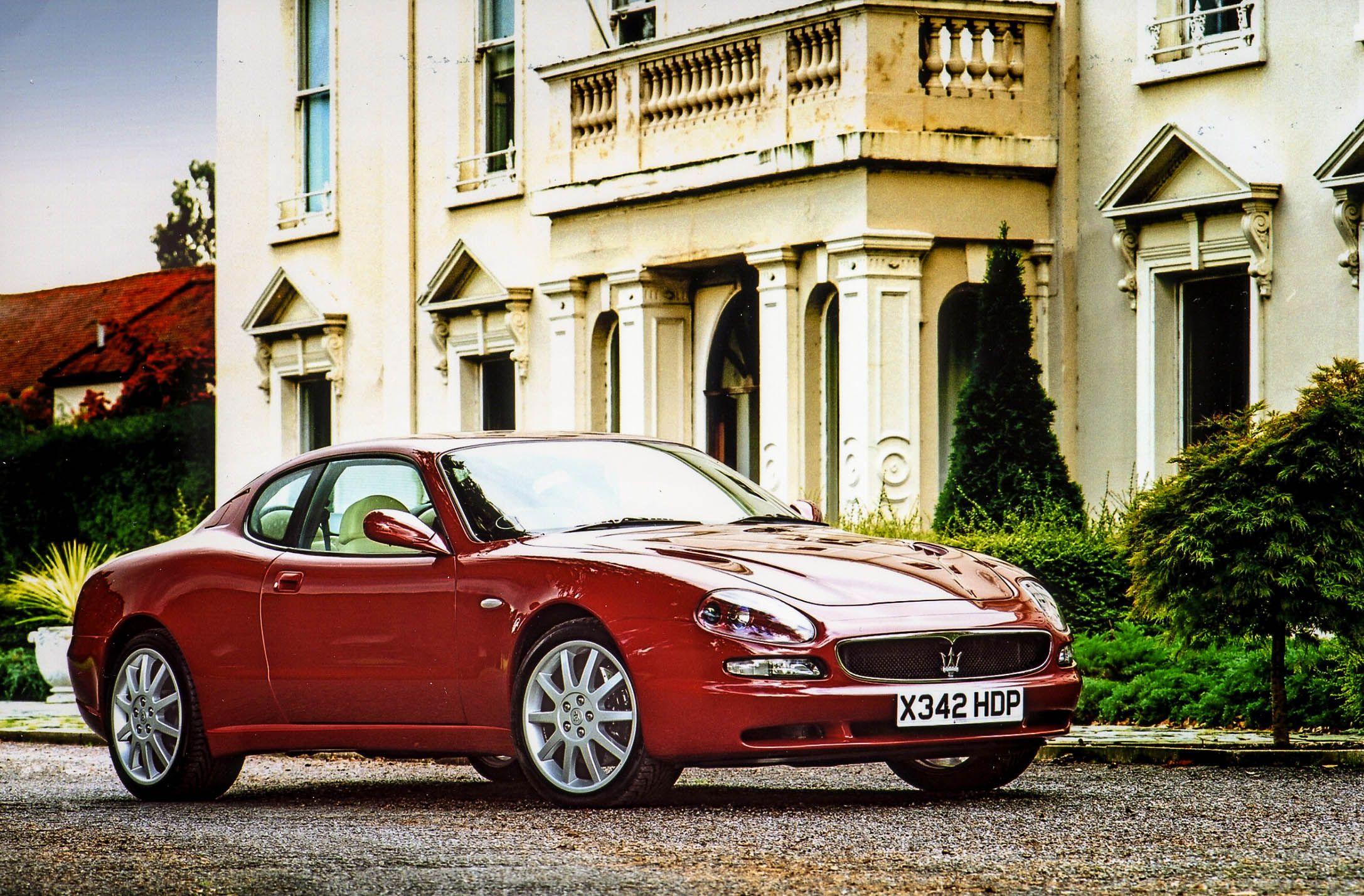 Maserati 3200 GT red