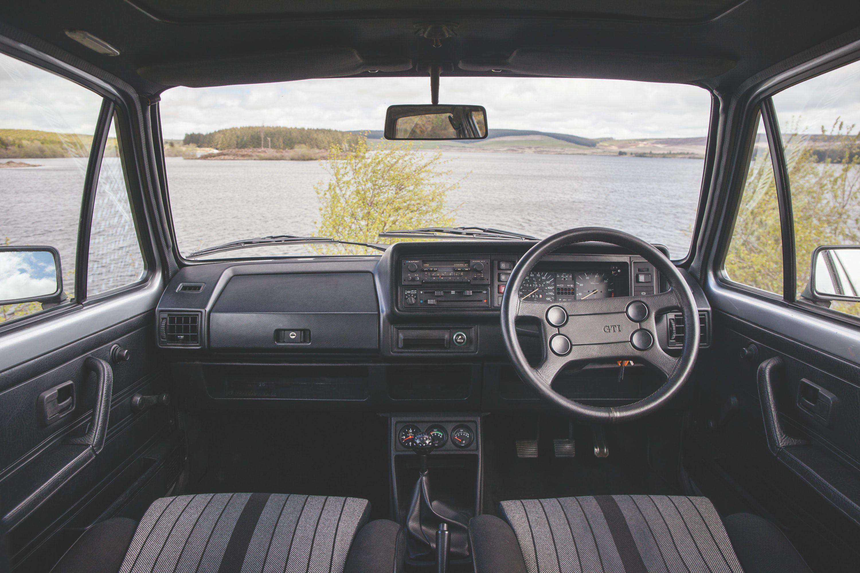 VW GOLF MK1 GTI Interior