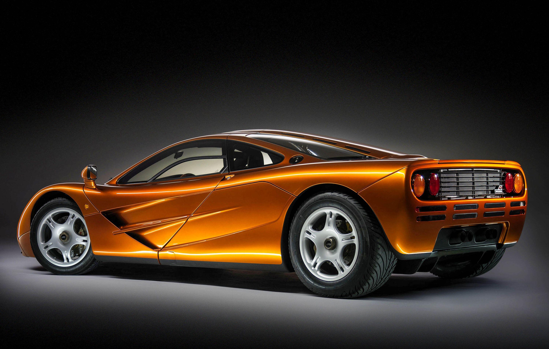 McLaren F1 burnt orange